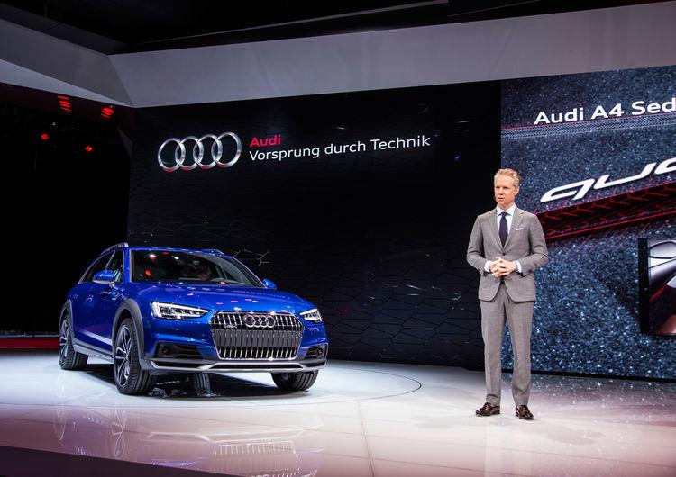 Audi auf der North American Auto Show 2016 in Detroit