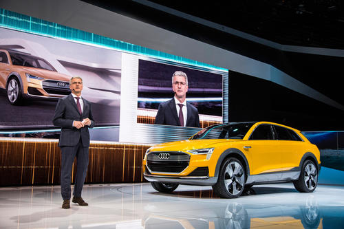 Audi at the 2016 American Auto Show in Detroit