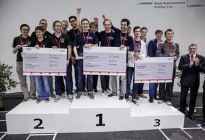 Premiere für Audi Autonomous Driving Cup
