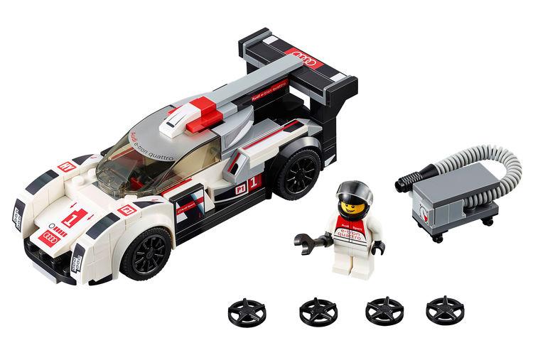 Audi R18 e-tron quattro Lego
