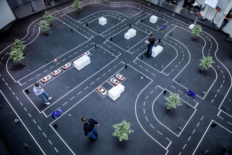 Technical University of Munich students  win first Audi Autonomous Driving Cup