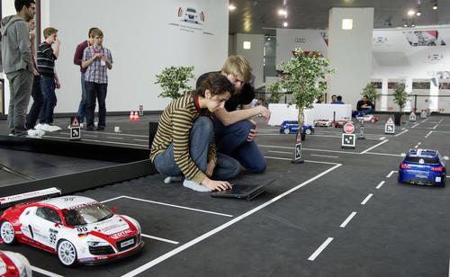 Premiere for Audi Autonomous Driving Cup