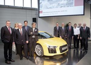Audi belohnt Belegschaft für Engagement