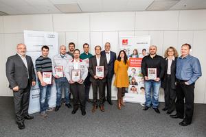 Neckarsulmer Audianer schenken Hoffnung: Knochenmarkspender geehrt