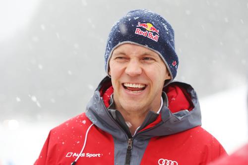 Mattias Ekström, Audi driving experience Saalbach