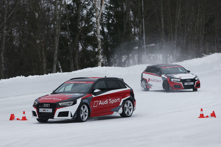 Audi driving experience Saalbach