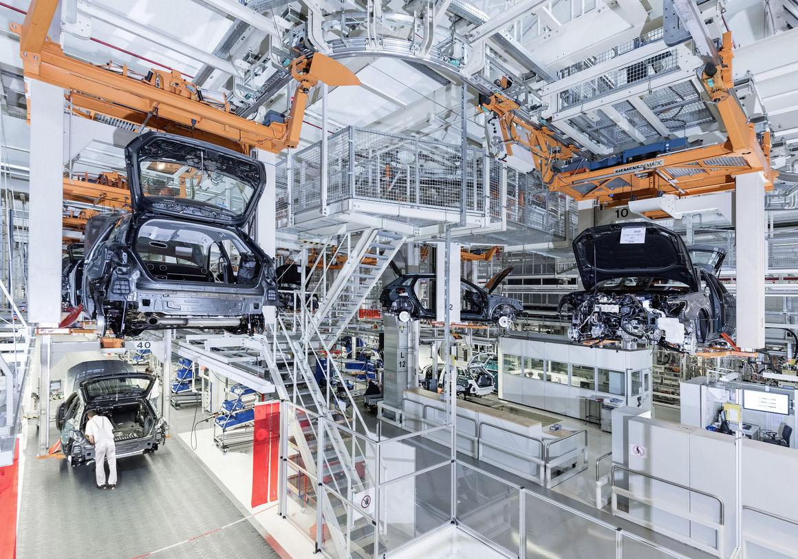 Audi site Ingolstadt