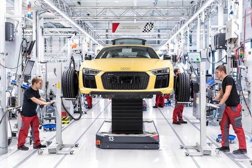 Auszeichnung für Audi R8-Manufaktur