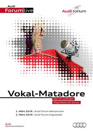 "Das Audi.torium ""Vokal-Matadore"""