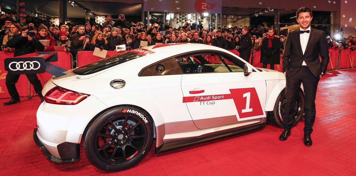 Mike Rockenfeller und der Audi Sport TT Cup.