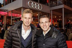 Fußball-Bundesligist Hertha BSC in Audi-Modellen unterwegs