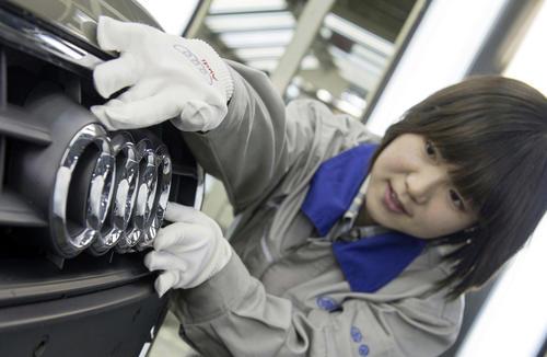 Audi celebrates double jubilee in China