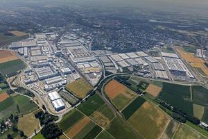 Luftaufnahme Standort Ingolstadt
