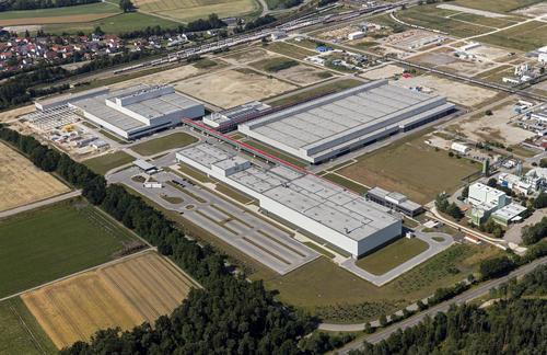 Luftaufnahme Audi-Fertigung Münchsmünster
