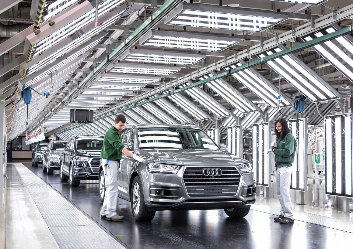 Audi am Standort Bratislava