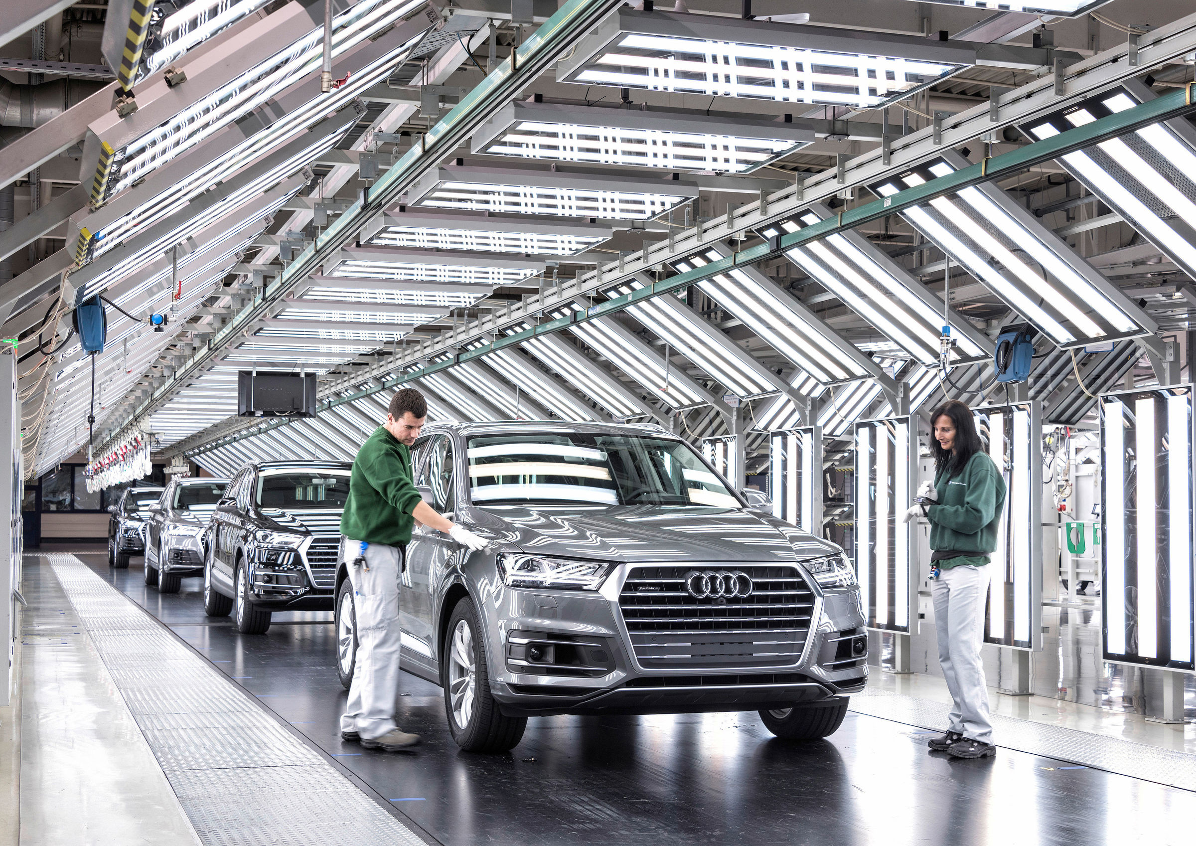 Audi at Bratislava site