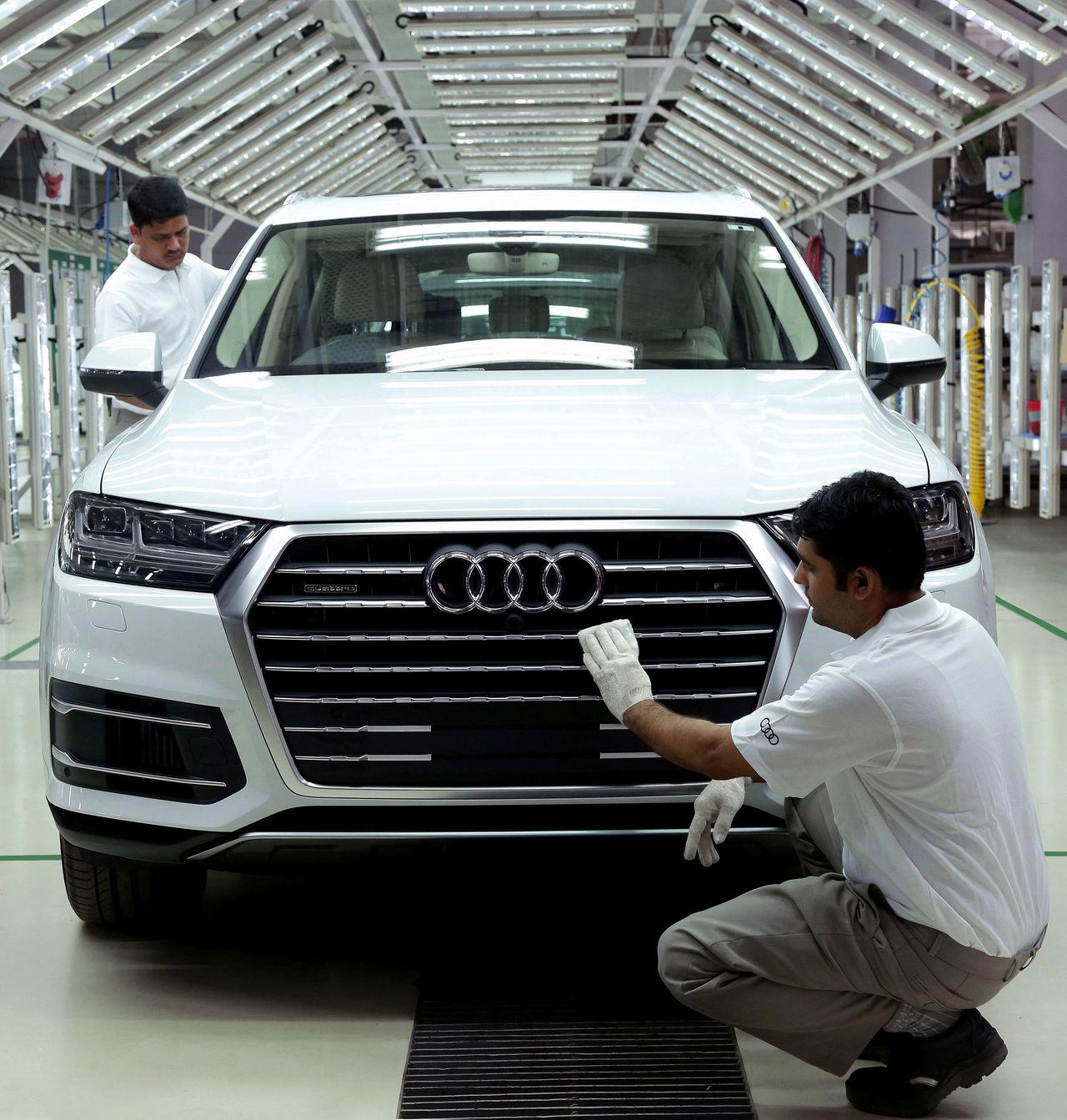 Aurangabad (India) | Audi MediaCenter | audi car manufacturing plant in india
