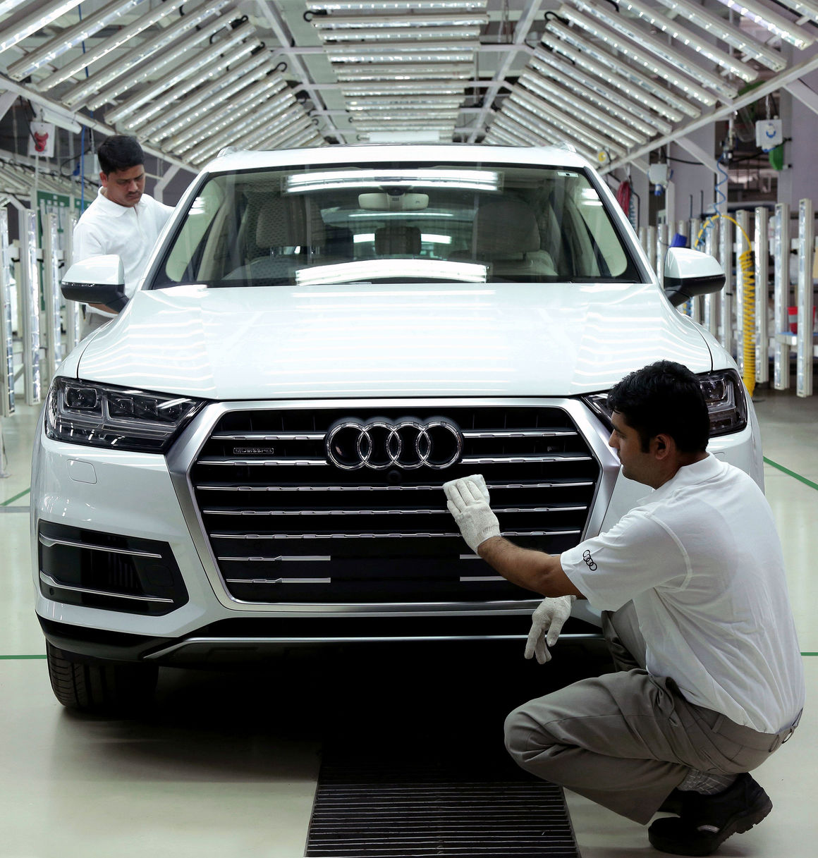 Audi at Aurangabad site
