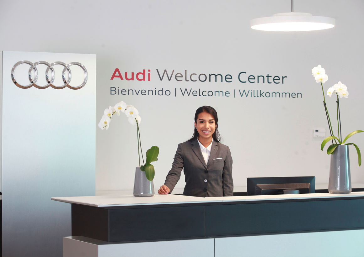 Audi production facility in San José Chiapa