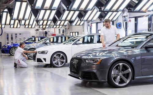 Prozesshaus am Audi-Standort Ingolstadt