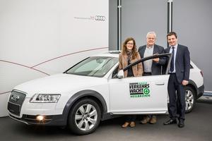 Audi spendet Audi A6 allroad quattro  an Kreisverkehrswacht Heilbronn