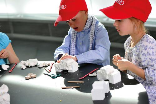 Kinderprogramm - Bionik – Leichtbau für kleine Forscher