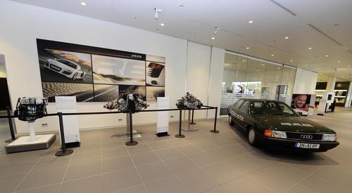 25 Jahre TDI im Audi Forum Neckarsulm