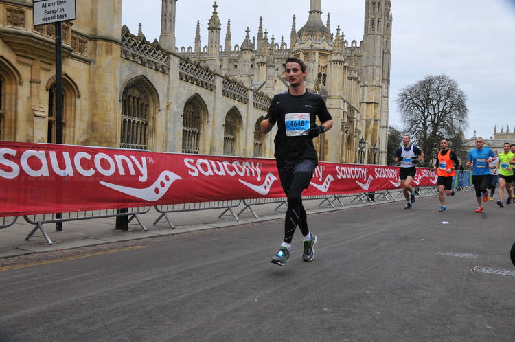 Halbmarathon Cambridge
