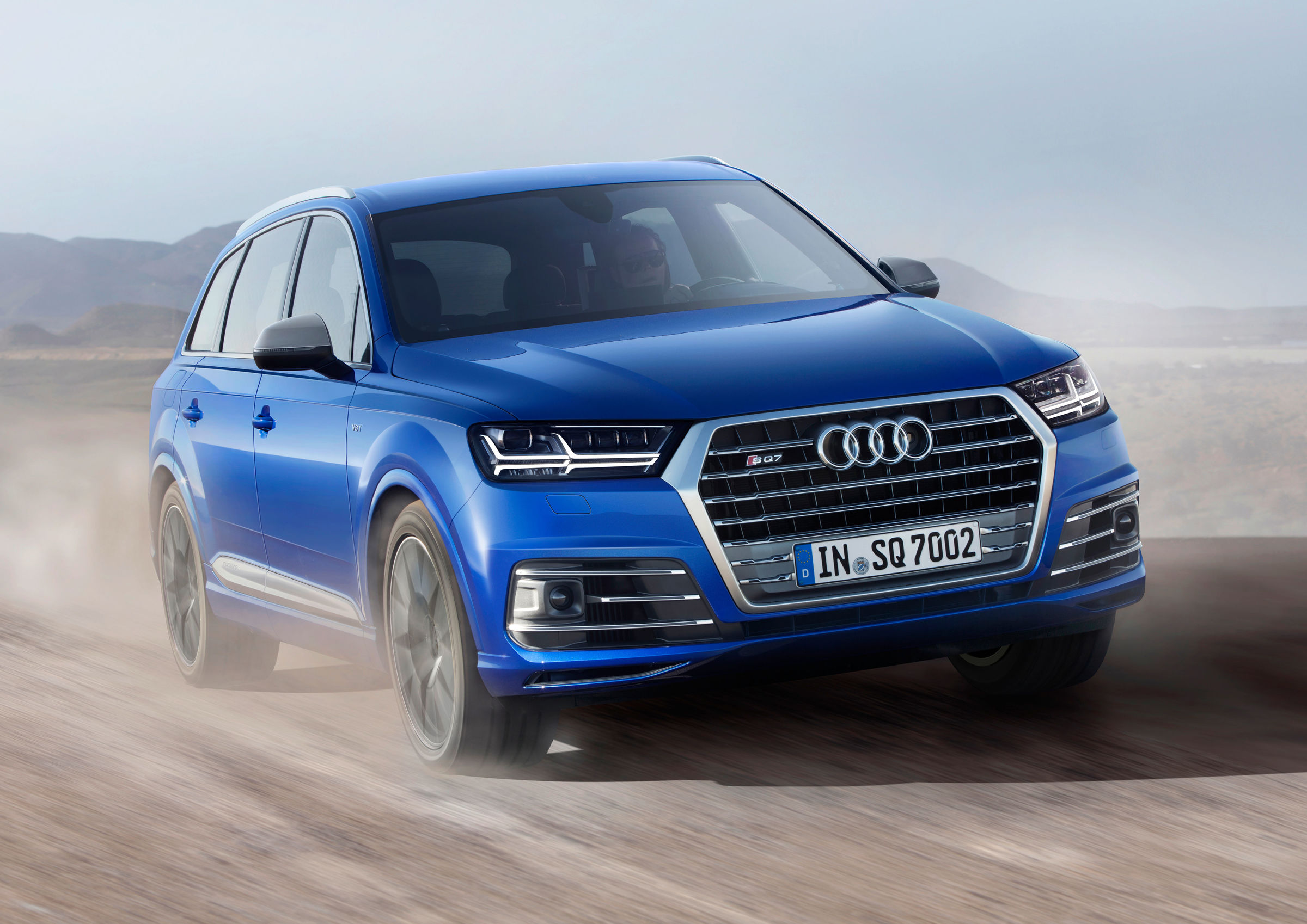 The Audi Sq7 Tdi First S Model Of The Series Audi Mediacenter