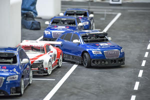 Audi Autonomous Driving Cup 2016: piloted driving on a 1:8 scale