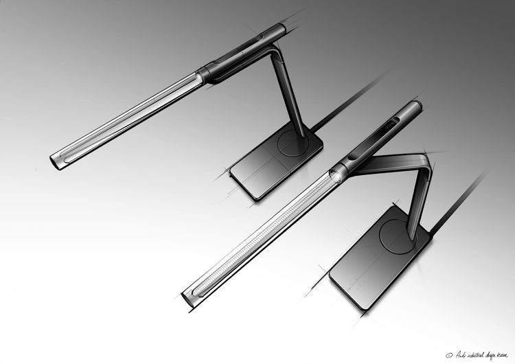 Audi Industrial Design collaborates with design lighting manufacturer Occhio