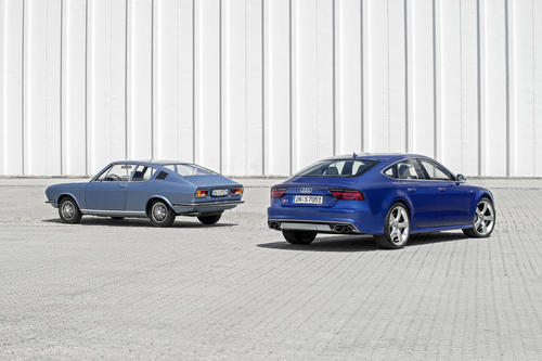 Audi S7 Sportback and Audi 100 Coupé S