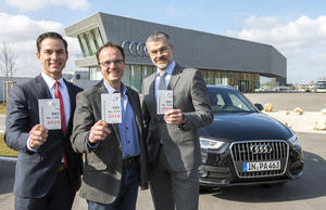 "Audi Neuburg spendet ""FÜR NEUBURGER"""