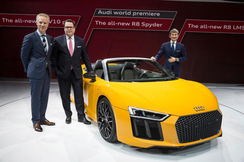 Audi auf der New York International Auto Show: