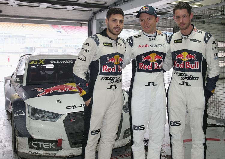 Rallycross test, Hockenheim