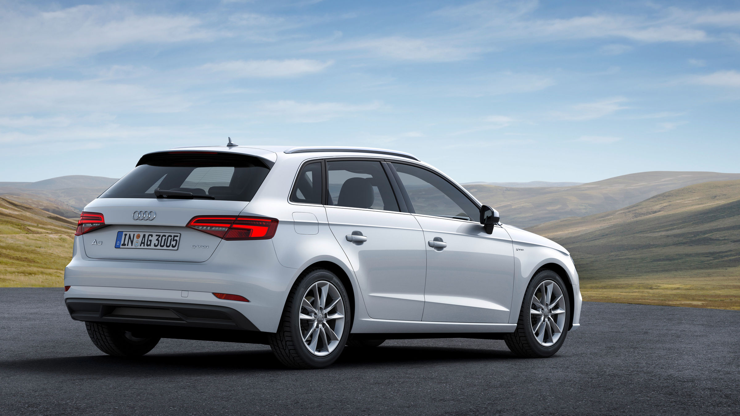 Audi A3 Sportback g-tron: Starting the New Model Year with a Longer