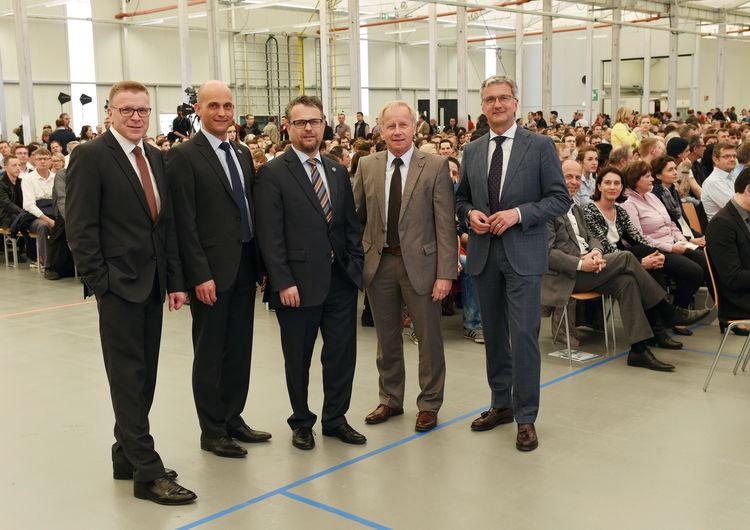 Audi Standort Ingolstadt: 43.000 Audianer an Bord