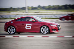 Audi driving experience mit dem FC Bayern Basketball