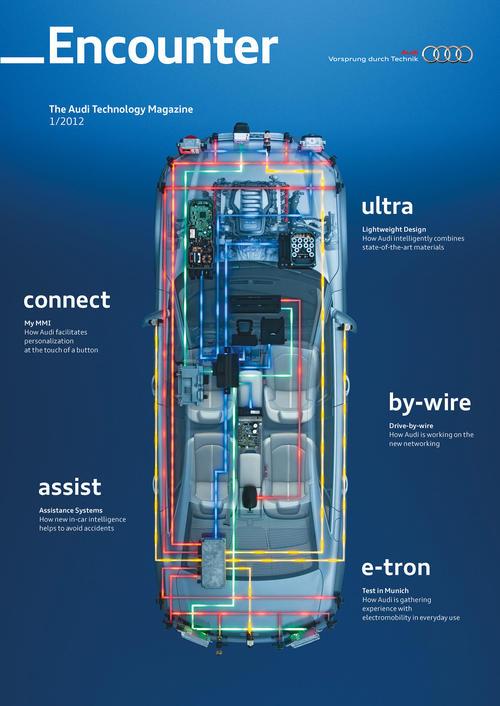 Encounter - The Audi Technology Magazine 1/2012