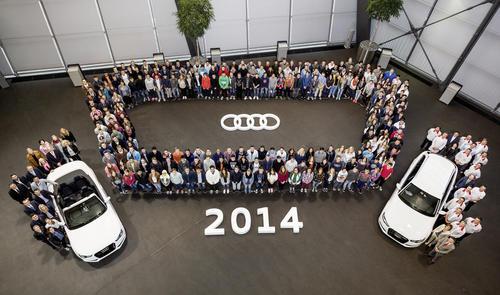 241 Jugendliche starten ihre Karriere bei Audi Neckarsulm