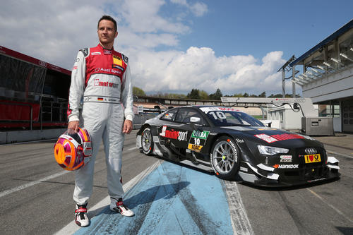 Motorsports / DTM Test Hockenheim