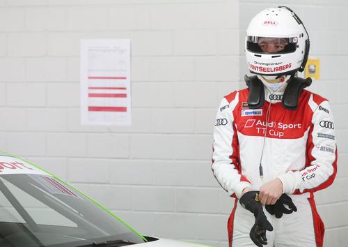Audi Sport TT Cup 2016, Test Hockenheim