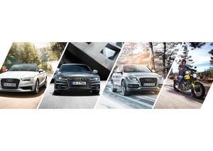 Audi select: flexible Premium-Mobilität jetzt auch mit Ducati