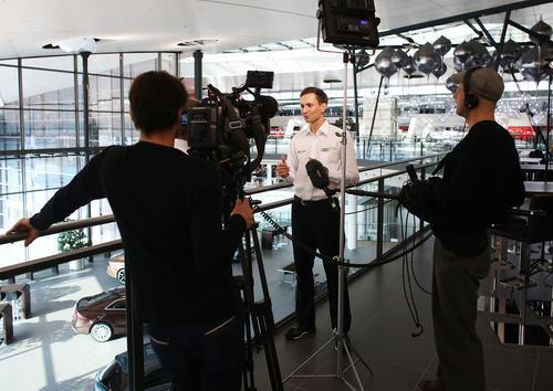 Audi Sport TT Cup 2016, Medientraining Neckarsulm