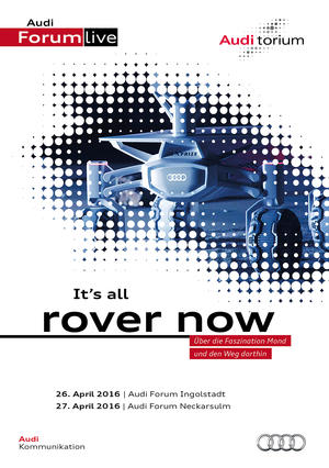 "Audi.torium ""It's all rover now"""