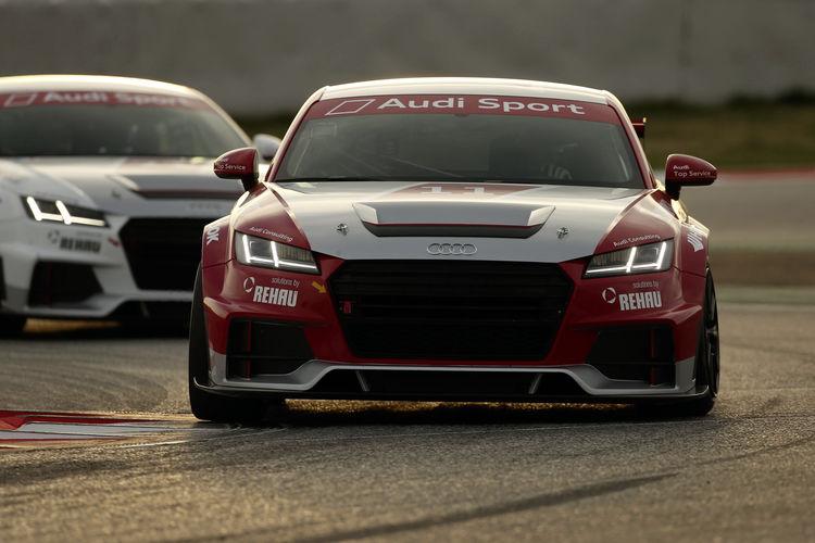 Testfahrten für neuen Audi Sport TT Cup bringen positive Erkenntnisse