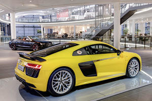 Audi R8: Premiere im Audi Forum Neckarsulm