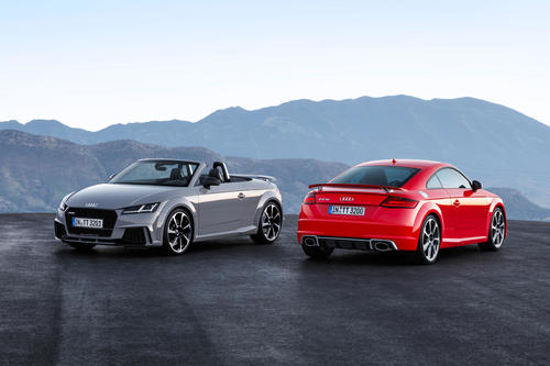 Audi TT RS Roadster, Audi TT RS Coupé (2016)