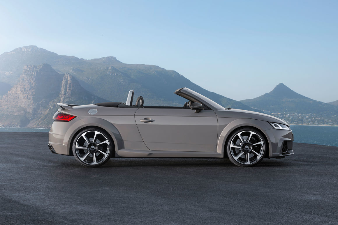 audi tt rs roadster | audi mediacenter