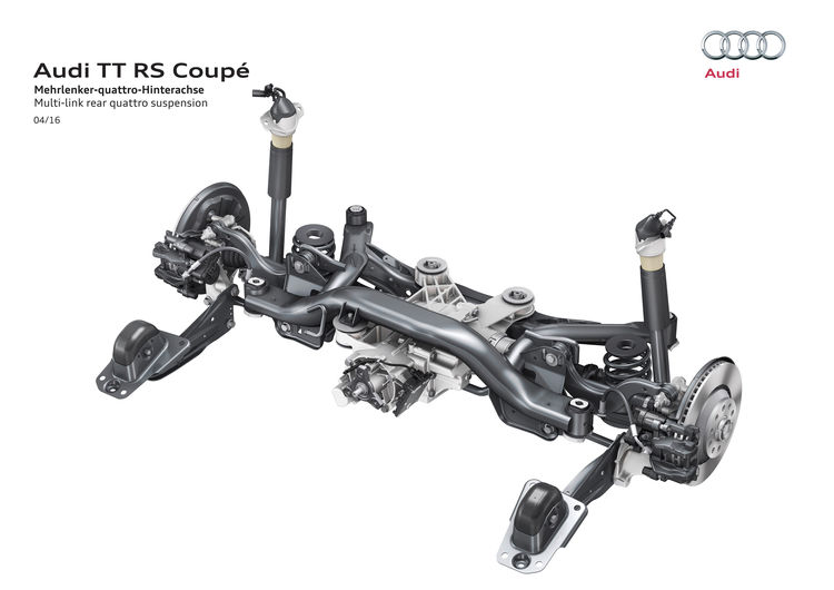 Audi TT RS Coupé (2016)